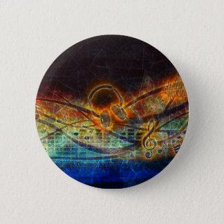 power of music 2 inch round button