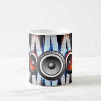 power of music morphing mug