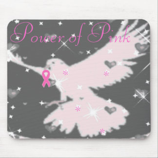 Power of Pink Ribbon Mousepad