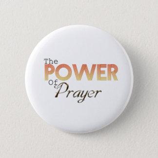 Power of Prayer 2 Inch Round Button