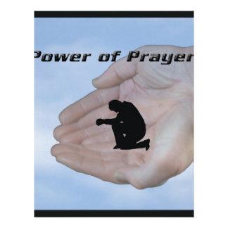 Power of Prayer Letterhead Design