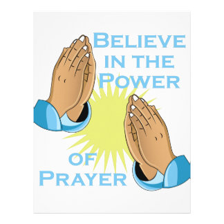 Power Of Prayer Customized Letterhead