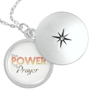 Power of Prayer Locket Necklace