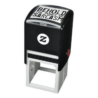 Power of Sarcasm Self-inking Stamp