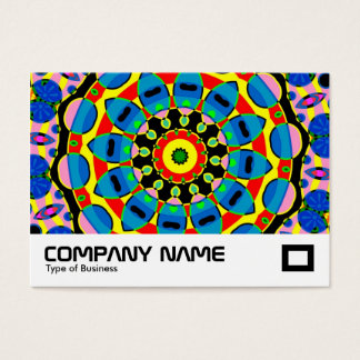 Power of Tin Toys Kaleidoscope Business Card