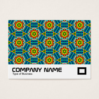 Power of Tin Toys Pattern Business Card