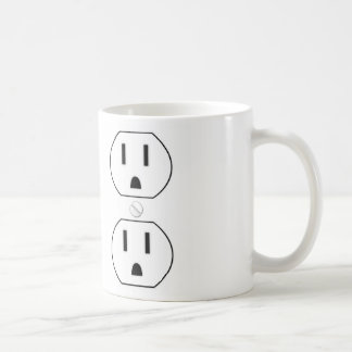 Power Outlet Coffee Mug