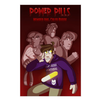 Power Pills Book 1 Cover Poster