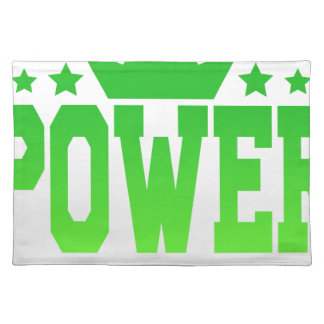 POWER PLACEMAT