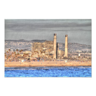 Power Plant Huntington Beach Photo Print