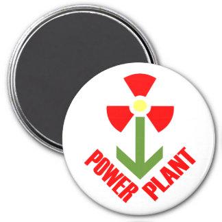 Power Plant Magnet (Plain)