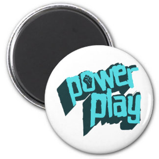 Power Play 2 Inch Round Magnet