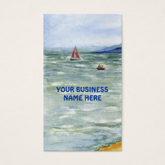 'Power & Sail' Business Card