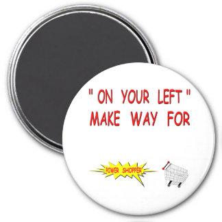 Power Shopper Fridge Magnets
