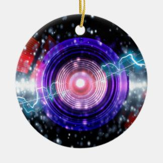 power sound design ceramic ornament