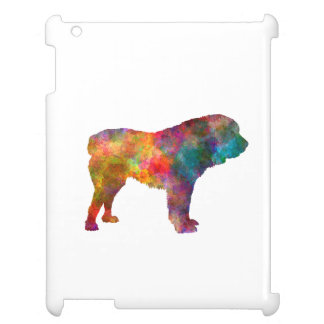 Power station Asian Shepherd Dog in watercolor iPad Cover