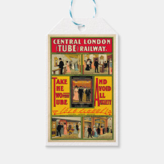 Power station London (I had) Railway, by unknown Pack Of Gift Tags