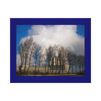 Power Station Pollution 3 Canvas Prints