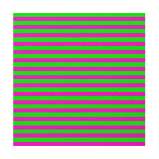 power stripes neon (C) Wood Print