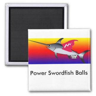 Power Swordfish Balls Magnet