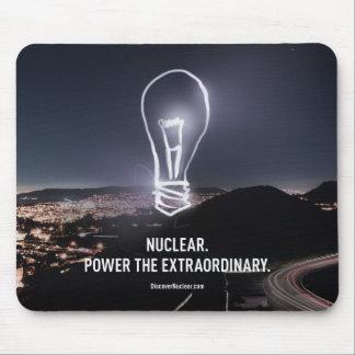 Power the Extraordinary Bulb Mousepad