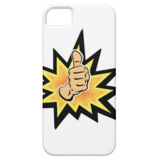power thumbs up iPhone 5 case