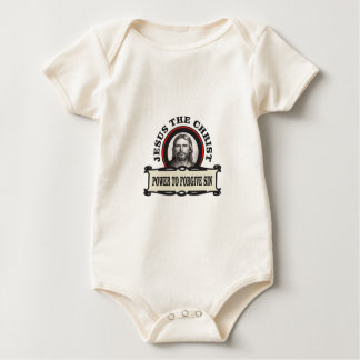 power to forgive sin jc baby bodysuit