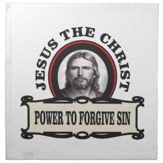 power to forgive sin jc napkin