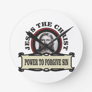 power to forgive sin jc round clock