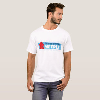 Power to the Meeple - Men's T T-Shirt