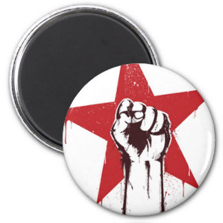 Power to the people 2 inch round magnet