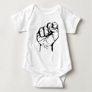 Power to the People Baby Bodysuit