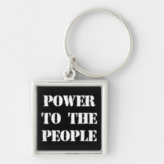 Power to the People Keychain