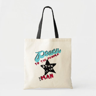 Power To The People Tote Bag