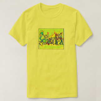 Power to the People yellow t-shirt