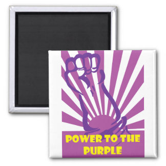 Power to the purple square magnet