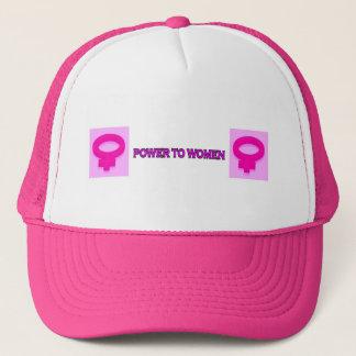 POWER TO WOMEN TRUCKER HAT