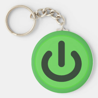 Power Toggle Button Keychain