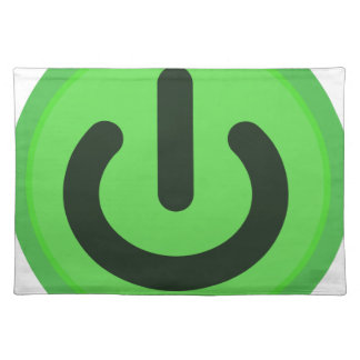 Power Toggle Button Placemat
