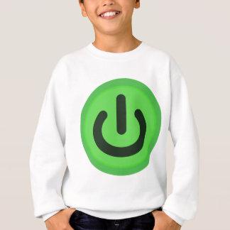 Power Toggle Button Sweatshirt