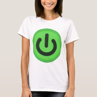 Power Toggle Button T-Shirt
