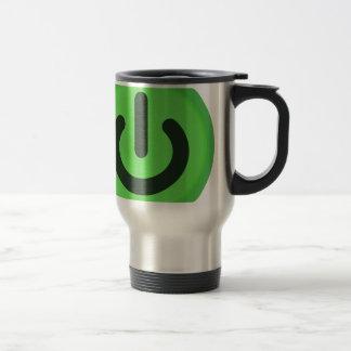 Power Toggle Button Travel Mug
