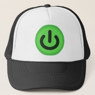 Power Toggle Button Trucker Hat