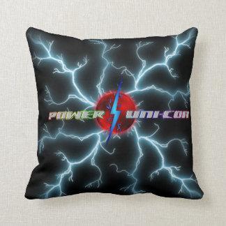 Power Uni-Con Throw Pillow