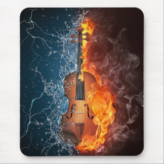 Power Violin Mouse Pad