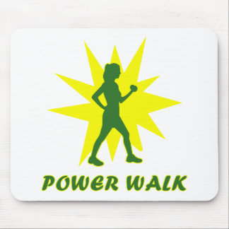 Power Walk Mouse Mat