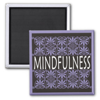 Power Word For Motivation - MINDFULNESS Square Magnet