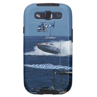 Powerboat and a helicopter samsung galaxy SIII case
