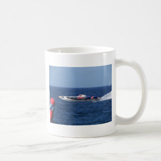 Powerboat Basic White Mug