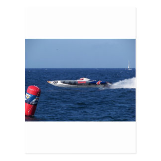 Powerboat Postcard